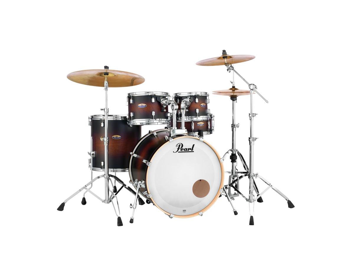 Image of   Pearl Decade Maple Standard Trommesæt Satin Brown Burst