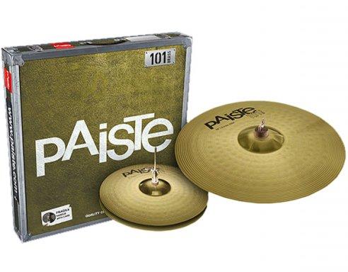 Image of   Paiste 101 Brass Essential Bækkenpakke