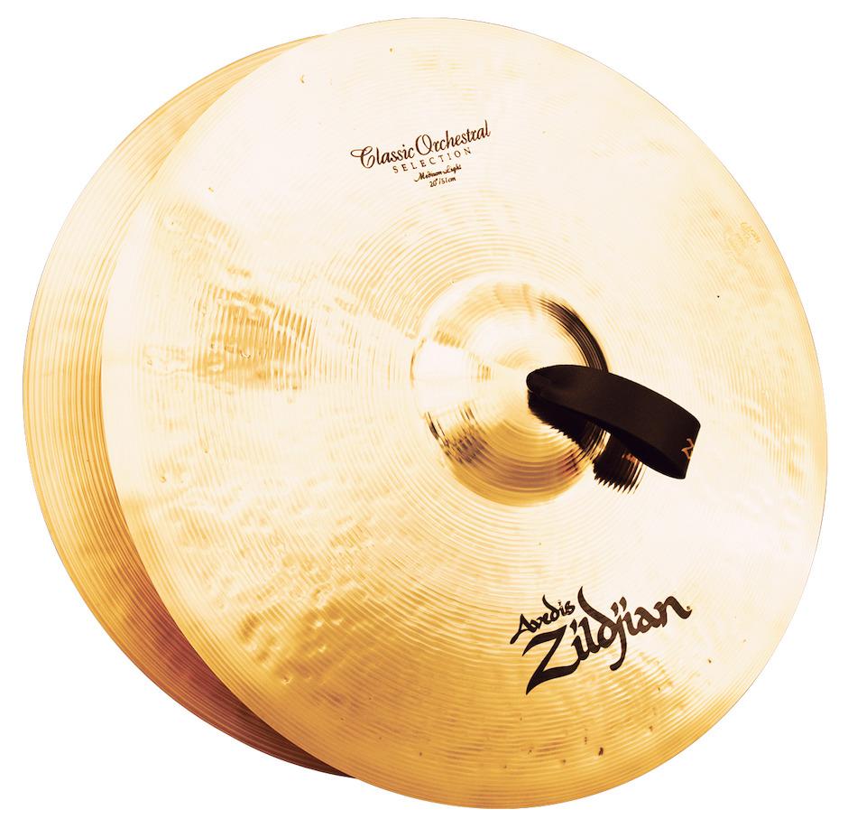 """Image of   Zildjian 20"""" Classic Orchestral Selection Medium Light Orkesterbækkener"""