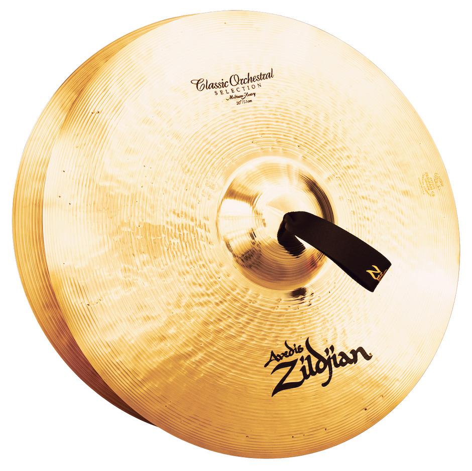 "Image of   Zildjian 20"" Classic Orchestral Selection Medium Heavy Orkesterbækkener"