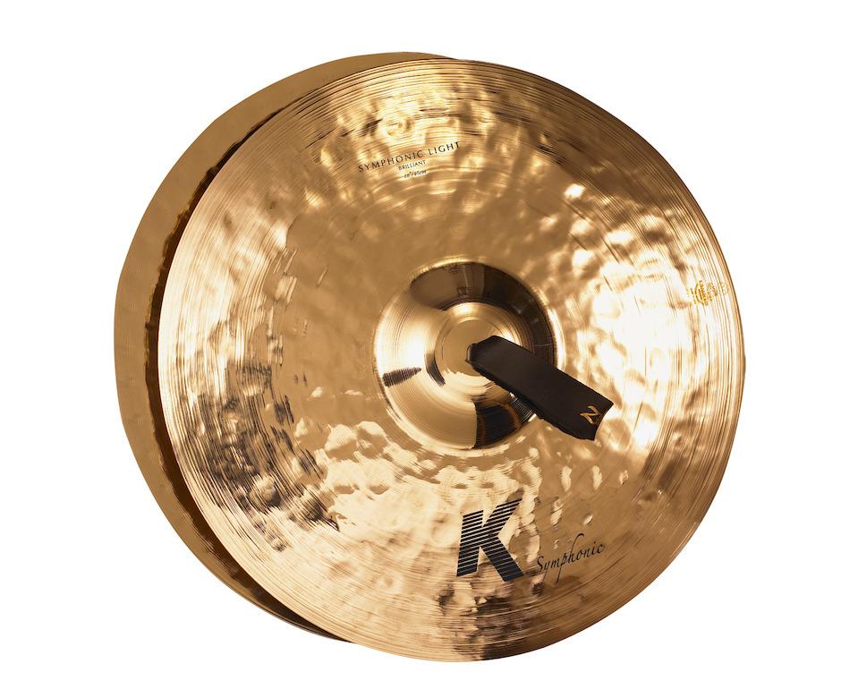 "Image of   Zildjian 18"" K Symphonic Light (Brilliant) Pair Orkesterbækkener"