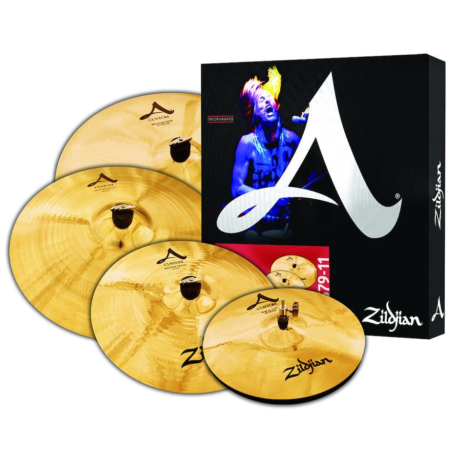 Image of   Zildjian A20579-11 A Custom Promo Pack