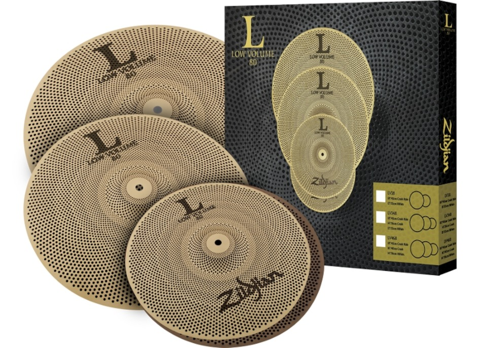 Image of   Zildjian LV468 Low Volume Cymbal Pack