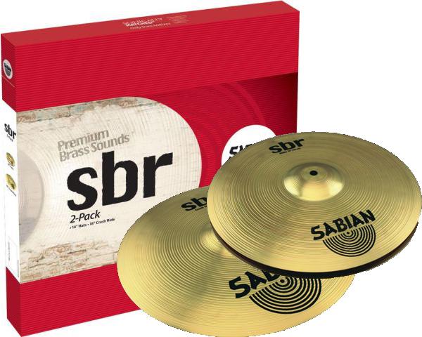 Image of   Sabian SBr 2-Pack Bækkenpakke