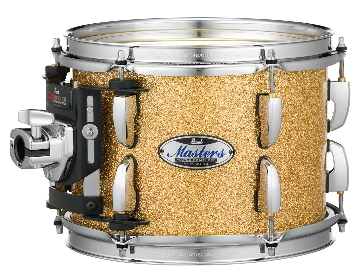 Image of   Pearl Masters Maple Complete Trommesæt Bombay Gold Sparkle