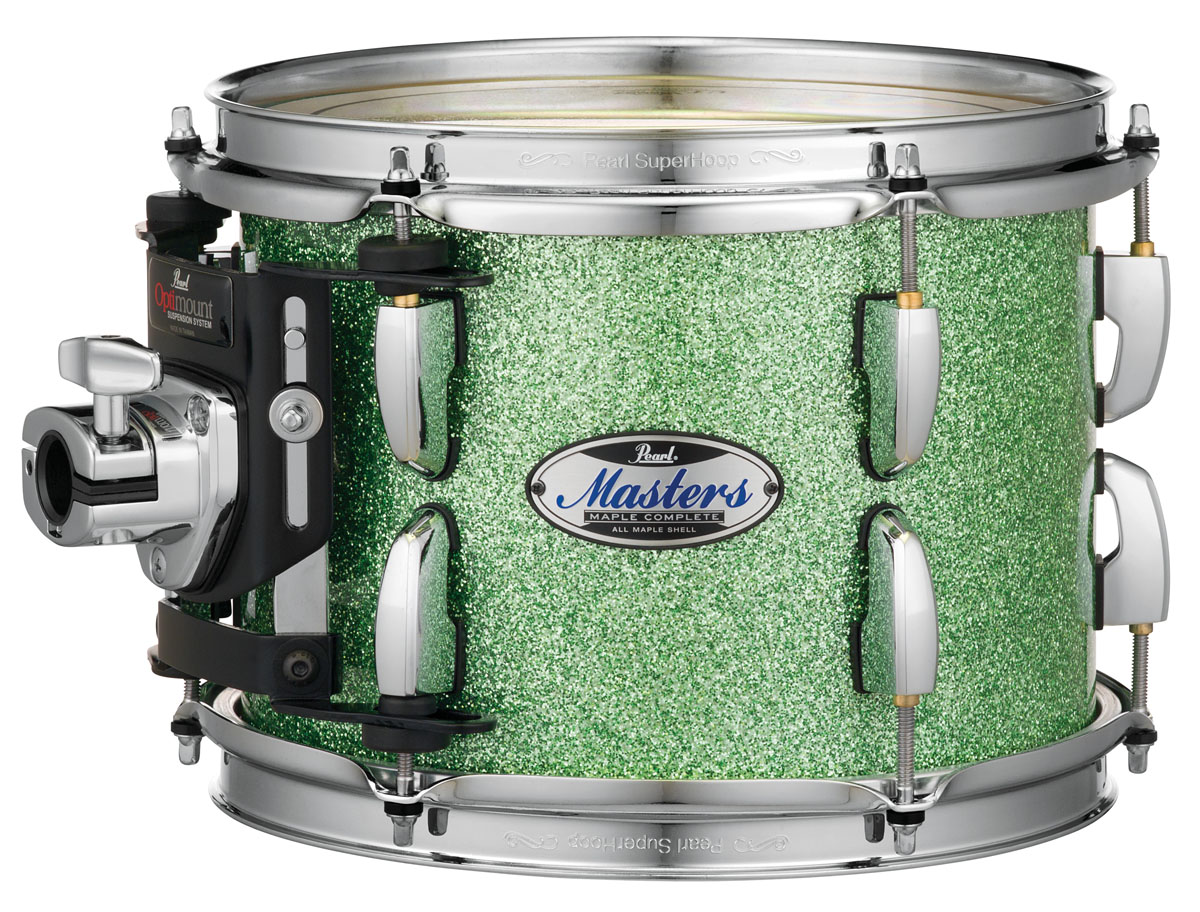 Image of   Pearl Masters Maple Complete Trommesæt Absinthe Sparkle