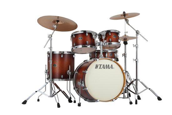Image of   Tama Silverstar Studio Trommesæt Antique Brown Burst