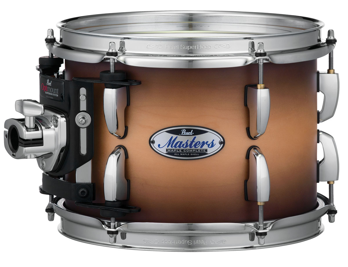 Image of   Pearl Masters Maple Complete Trommesæt Satin Natural Burst