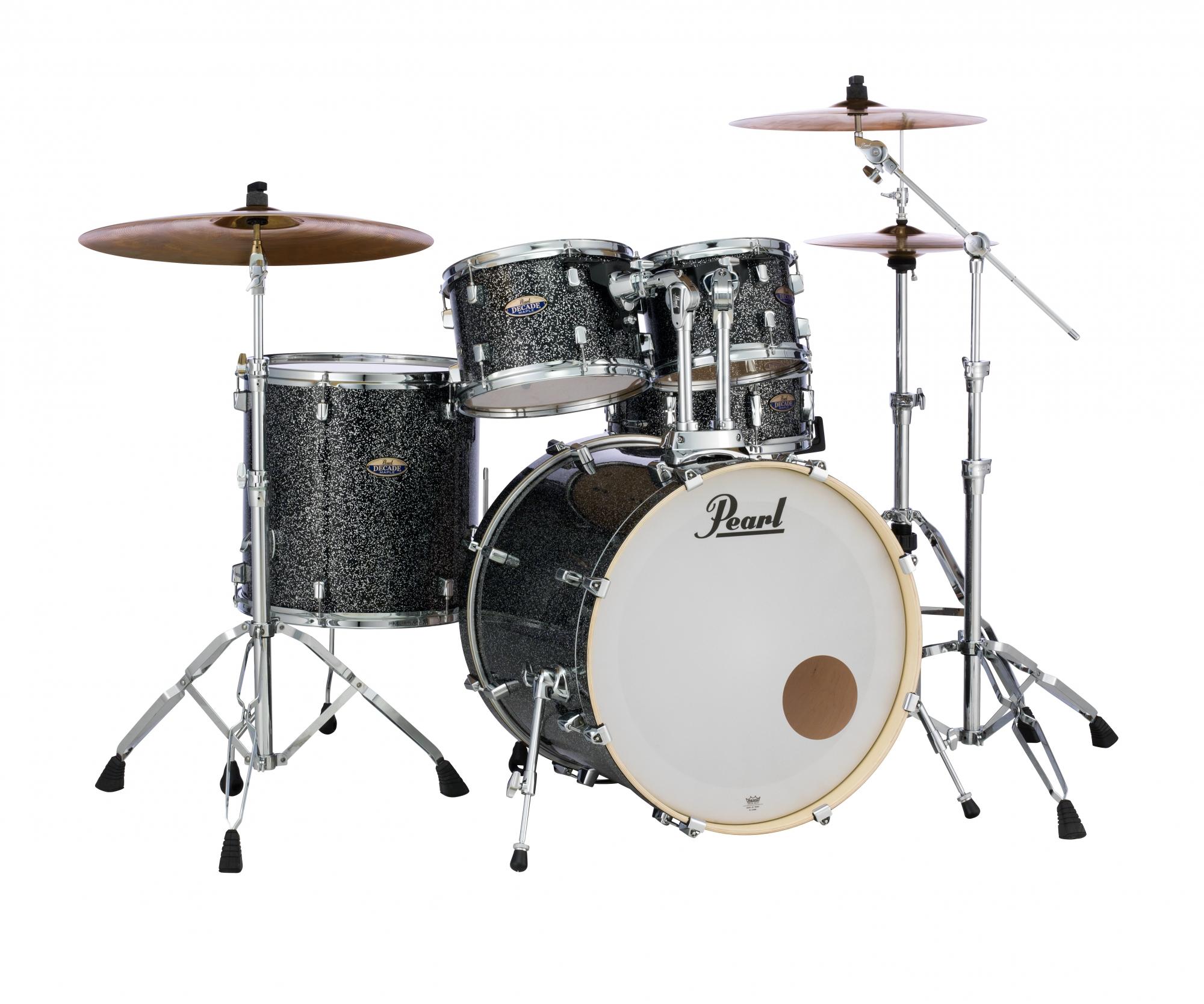Image of   Pearl Decade Maple Standard Trommesæt Slate Galaxy Flake