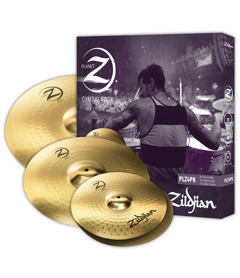 Image of   Zildjian PLZ4PK Planet Z 14/16/20 Pack bækkener