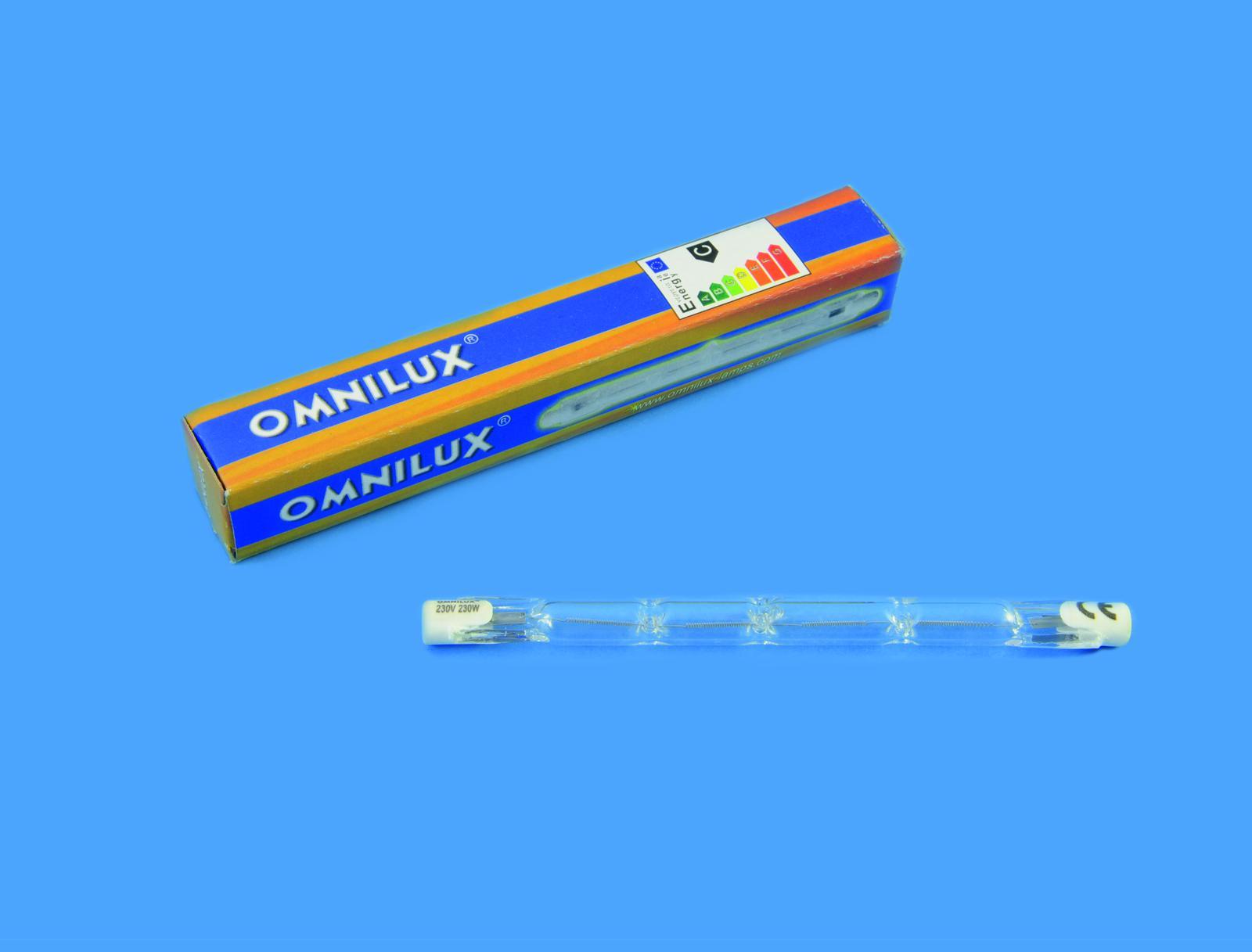 Image of   OMNILUX 230V/160W R7s 118mm pole burner h