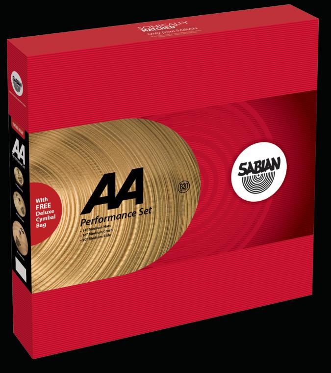 Image of   Sabian AA Performance Set Bækkenpakke