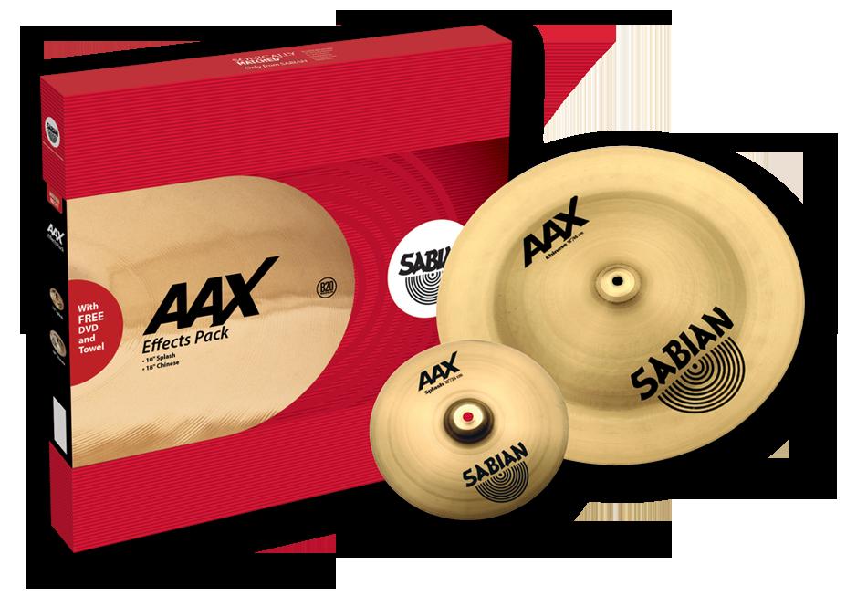 Image of   Sabian AAX Effects Pack Bækkenpakke