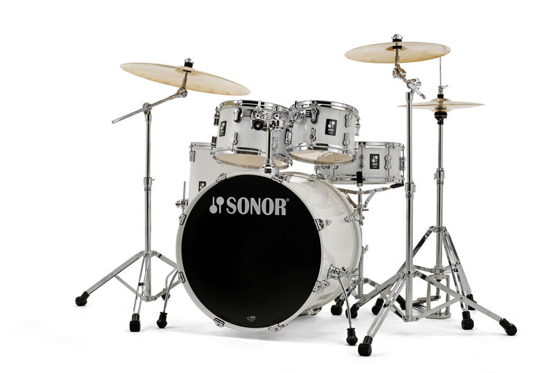 Image of   Sonor AQ1 Stage Trommesæt Piano White