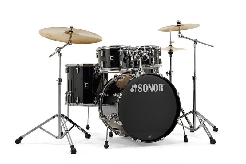 Image of   Sonor AQ1 Stage Trommesæt Piano Black