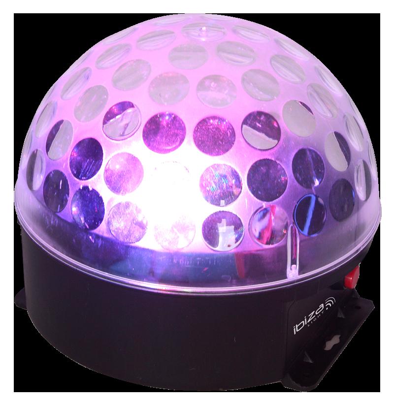 Image of   Ibiza Astro-Bat RGBA LED lyseffekt