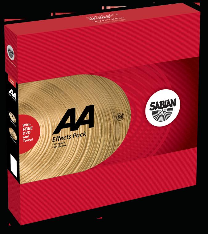 Image of   Sabian AA Effects Pack Bækkenpakke