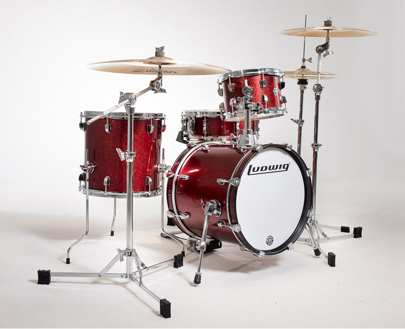 Image of   Ludwig Breakbeats by Questlove trommesæt Wine Red Sparkle