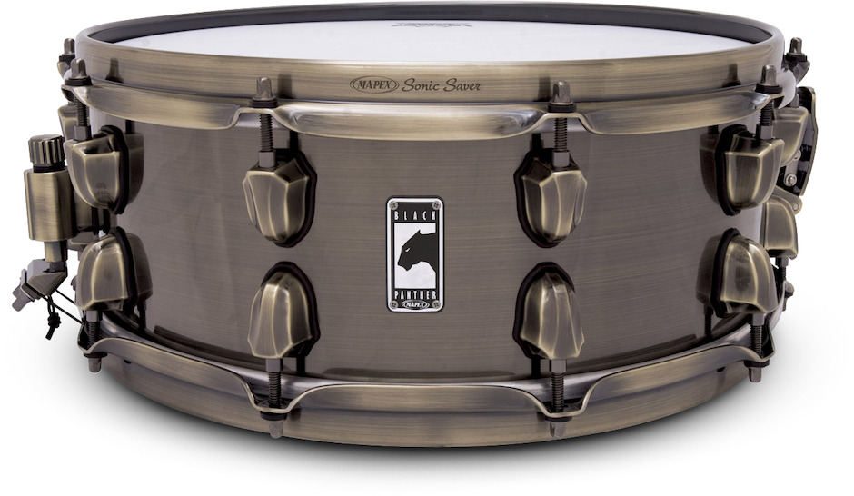 """Image of   Mapex 14x5,5"""" Black Panther Brass Cat Lilletromme"""
