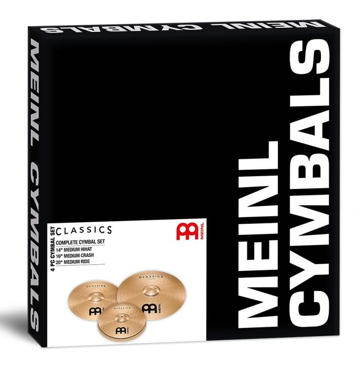 Image of   MEINL C141620 Classics Medium Bækkenpakke