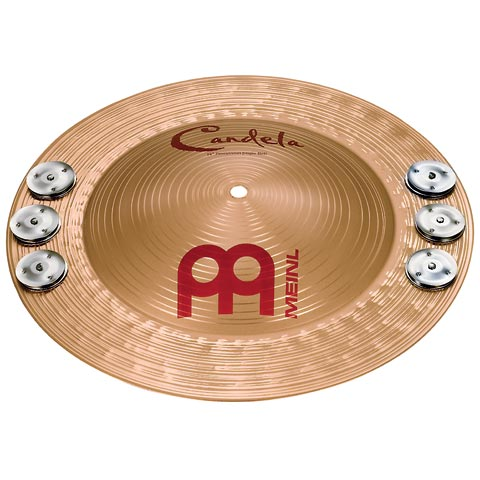 """Image of   Meinl 14"""" Candela Percussion Jingle Bell"""