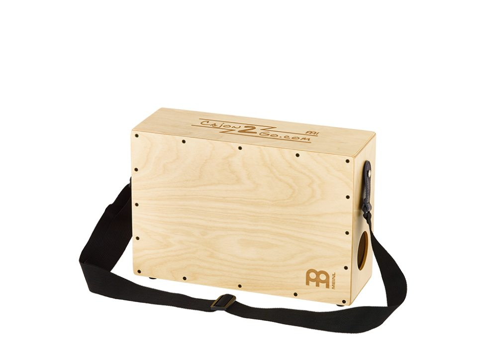 Image of   MEINL CAJ2GO-1 Stand-Up Cajon Natural