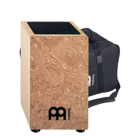 Image of   MEINL CAJ3MB-M+BAG Trad. String Cajon