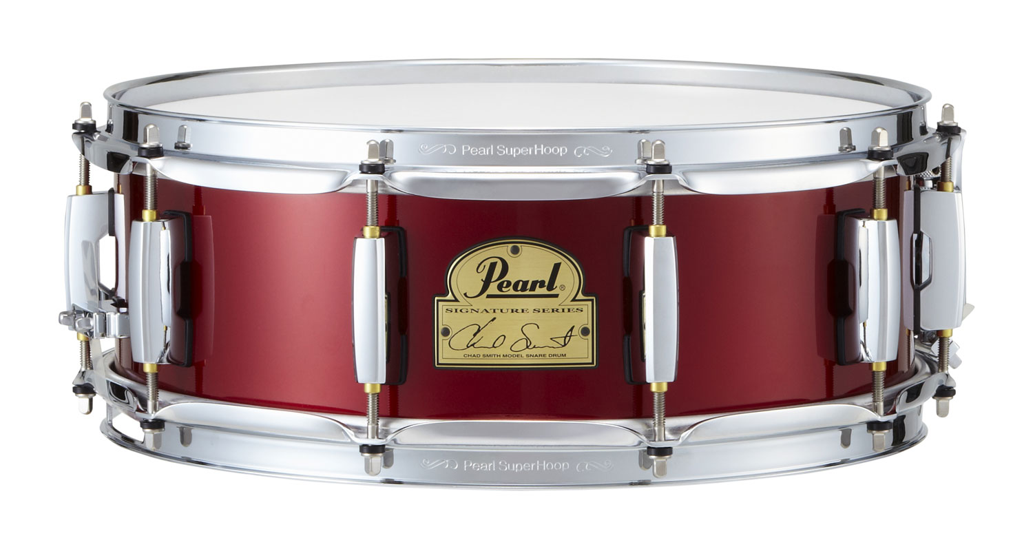 """Image of   Pearl 14x5"""" Chad Smith Signature lilletromme"""