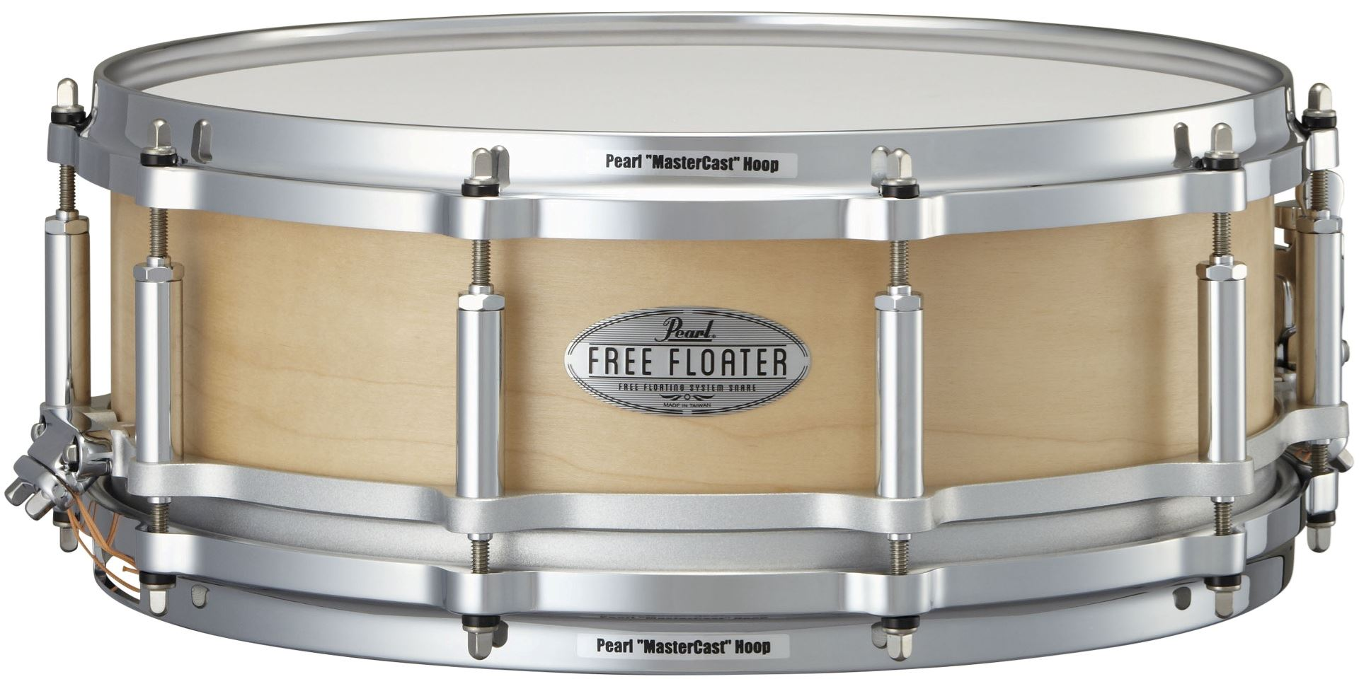 """Image of   Pearl 14x5"""" Free Floating Maple lilletromme"""