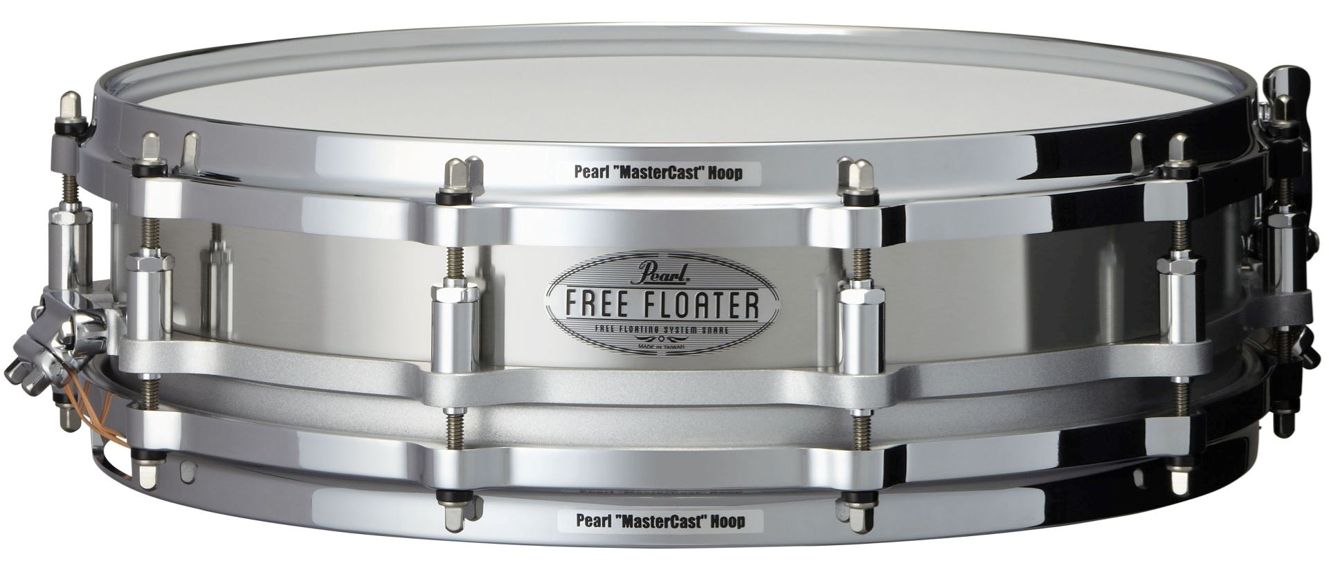 """Image of   Pearl 14x3,5"""" Free Floating Stainless Steel lilletromme"""