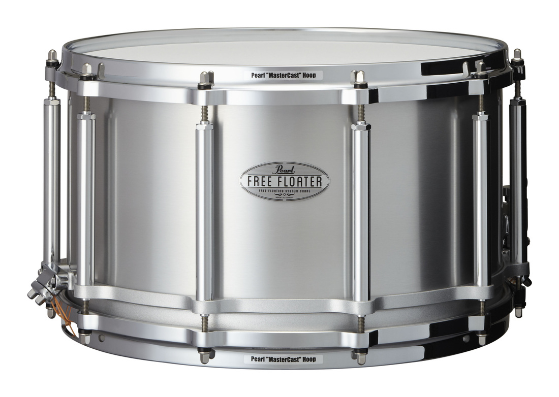 """Image of   Pearl 14x8"""" Free Floating Seamless Aluminium lilletromme"""