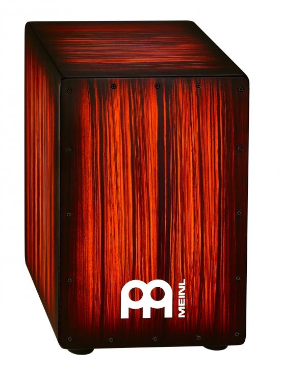 Image of   MEINL HCAJ2RTS Headliner Cajon Tiger Rojo