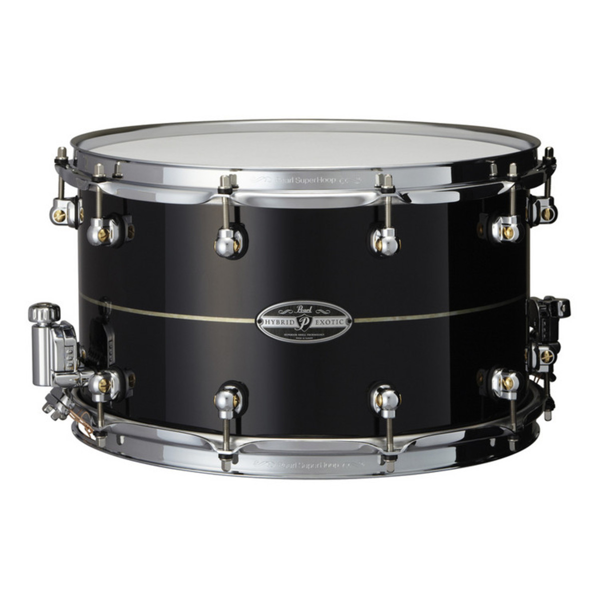 """Image of   Pearl 14x8"""" Hybrid Exotic lilletromme DEMO"""