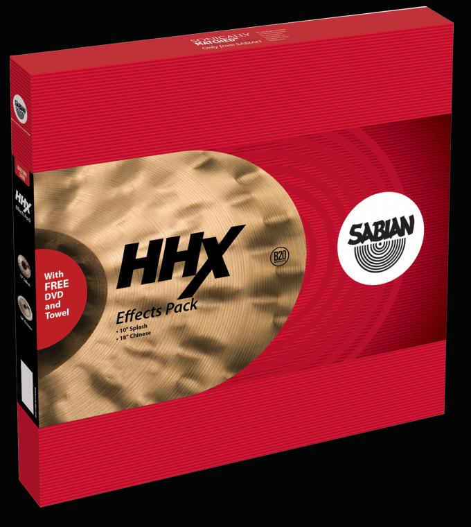 Image of   Sabian HHX Effects Pack Bækkenpakke