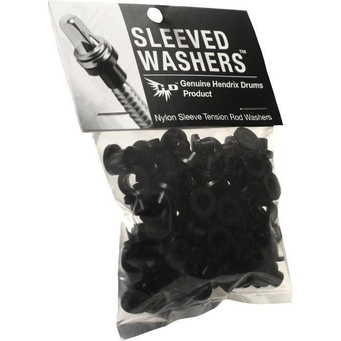 Image of   Hendrix Sleeved Washers 20 stk Sort