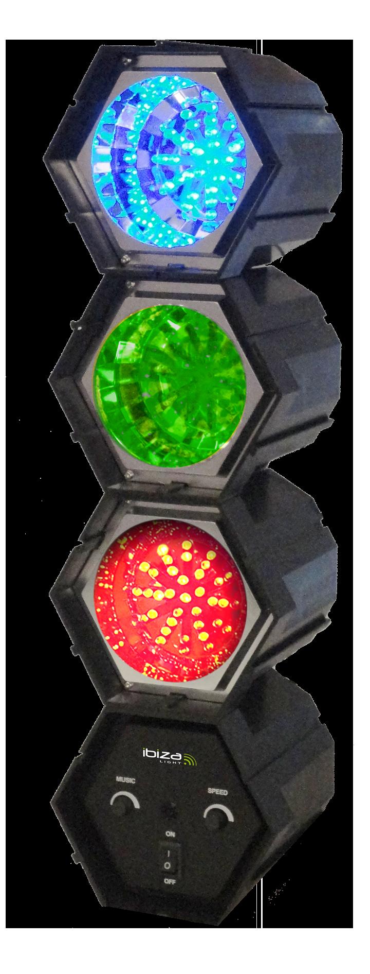 Image of   Ibiza 3-Pod LED lyseffekt