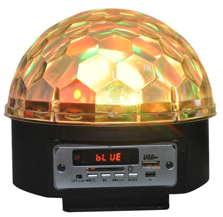 Image of   Ibiza Astro 5 lyseffekt med højttaler og bluetooth