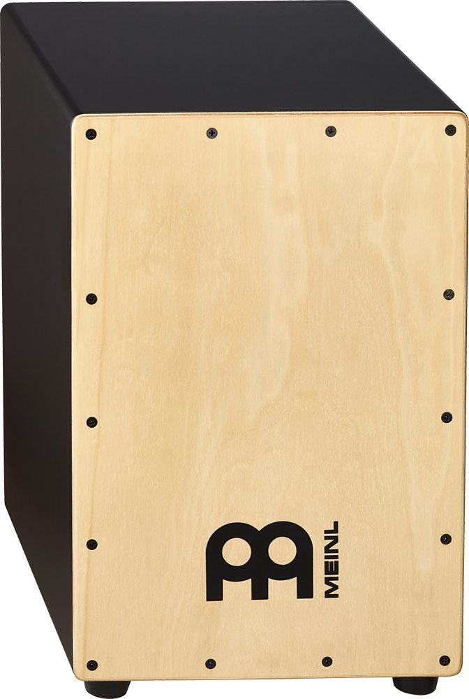 Image of   MEINL MCAJ100BK-MA Black Cajon Maple