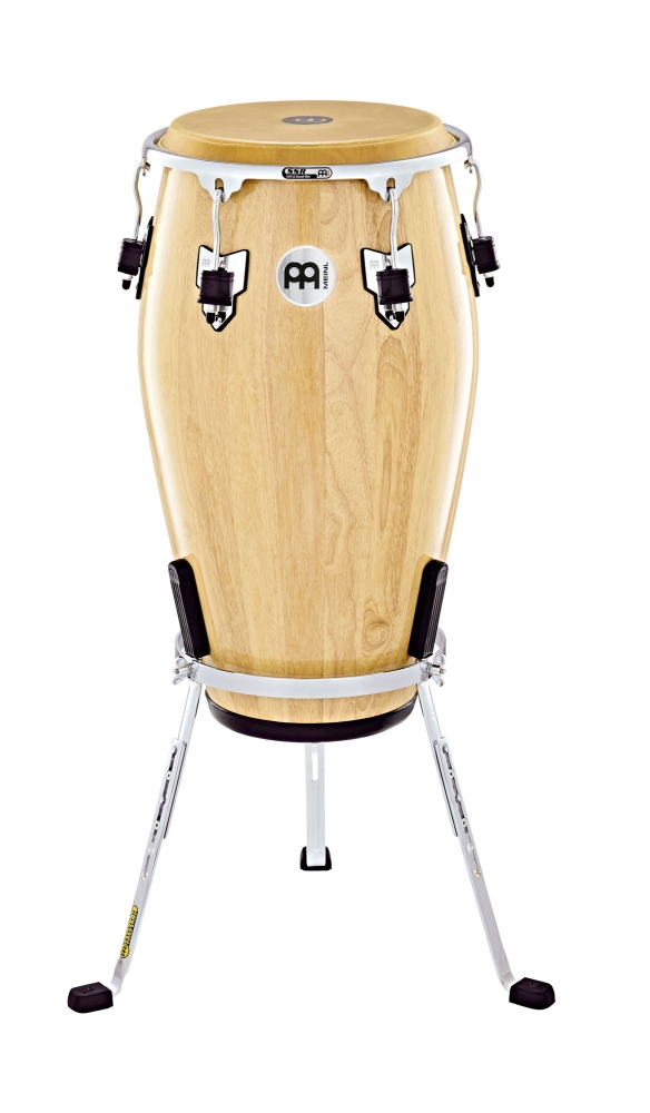 Image of   MEINL MEC11NT-CH Conga Marathon Exclusive m/Chrome stativ