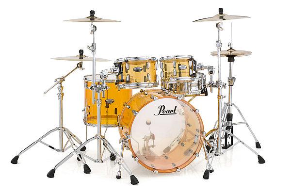 Image of   Pearl Crystal Beat Rock Trommesæt Tangerine