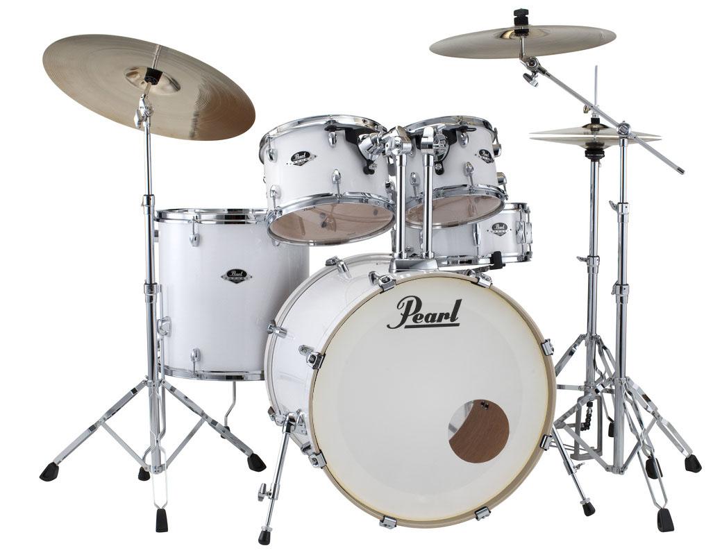 Image of   Pearl Export EXX Fusion Trommesæt Arctic Sparkle
