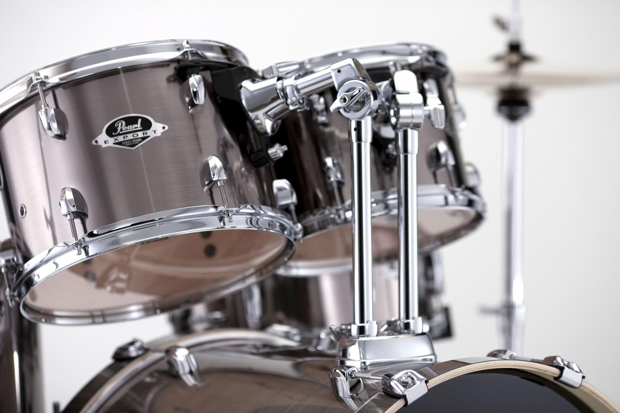 Image of   Pearl Export EXX Fusion Trommesæt Smokey Chrome
