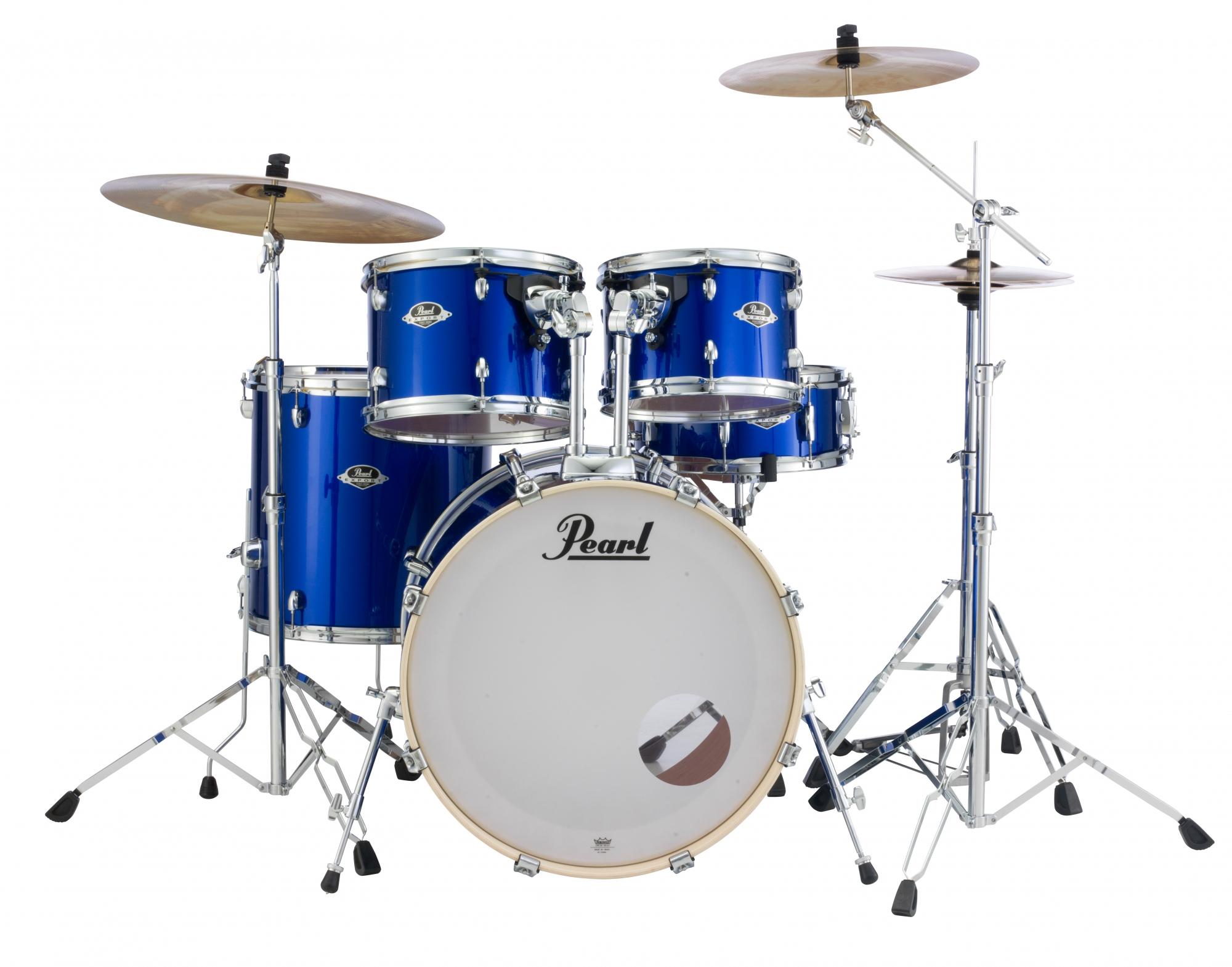 Image of   Pearl Export EXX Standard Trommesæt High Voltage Blue