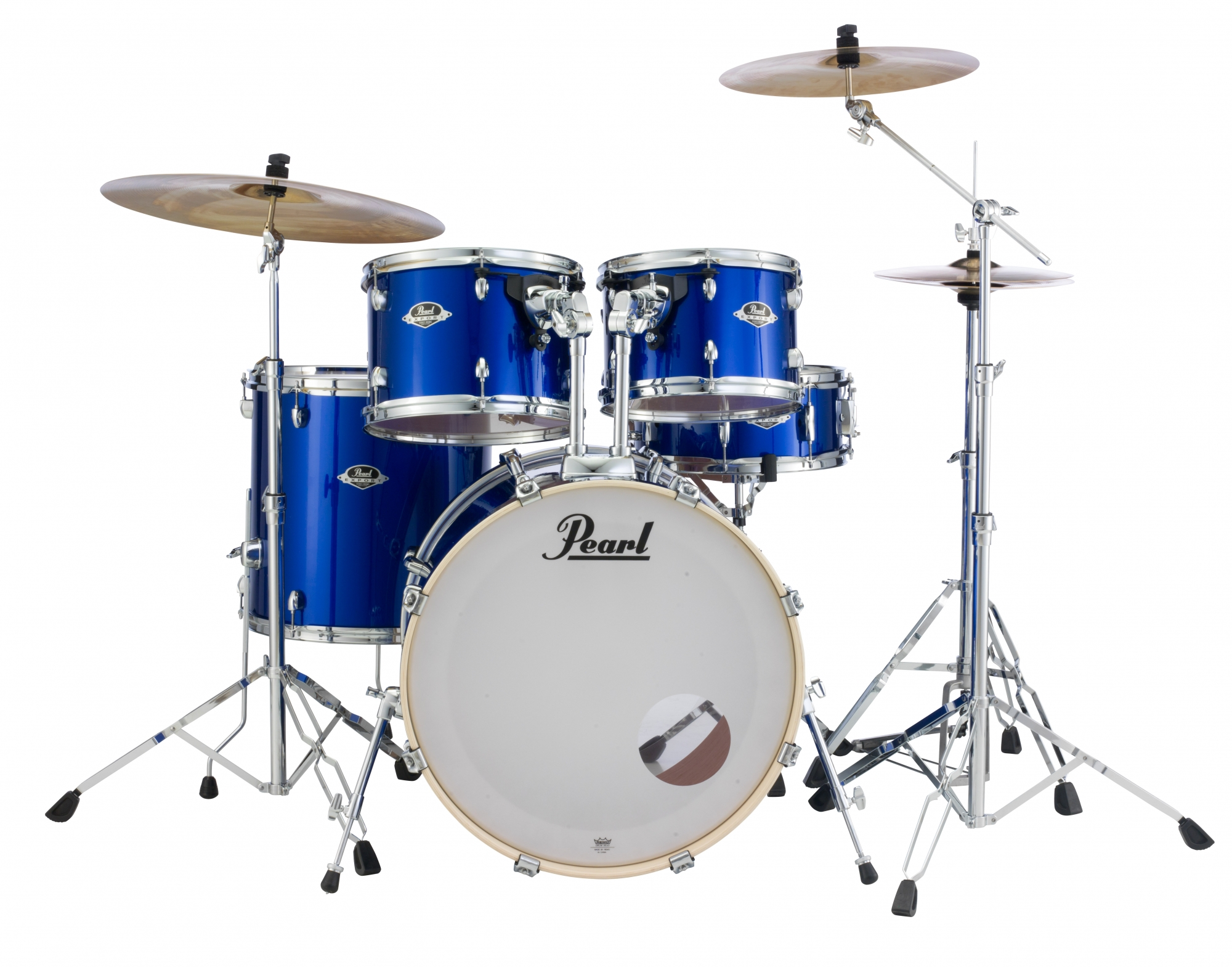 Image of   Pearl Export EXX Studio Trommesæt High Voltage Blue