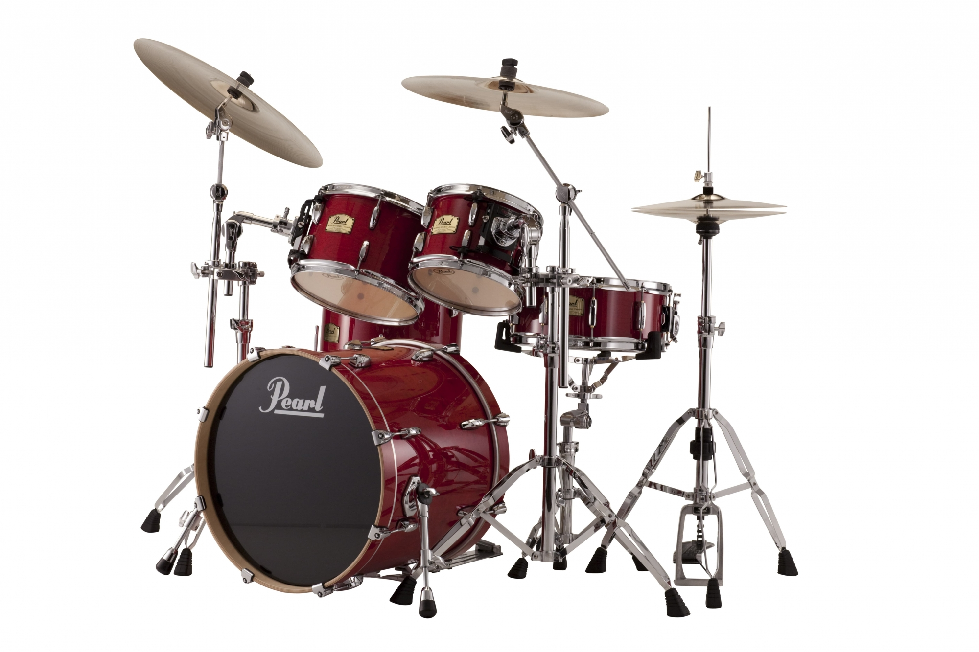 Image of   Pearl Session Studio Classic Rock Trommesæt Sequoia red