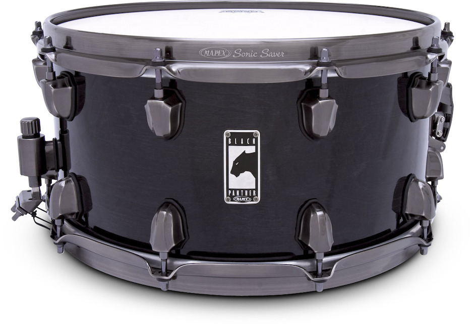 """Image of   Mapex 14x7"""" Black Panther Phat Bob Lilletromme"""