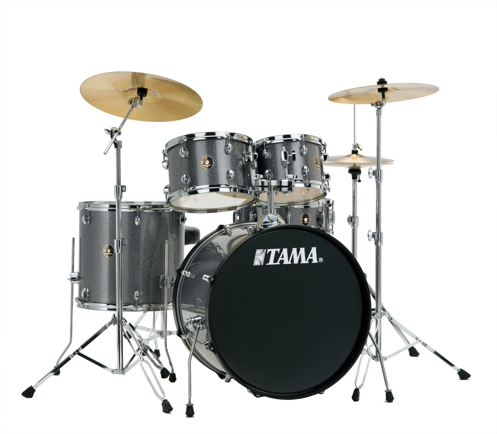 Image of   Tama Rhythm Mate Standard Trommesæt Galaxy Silver