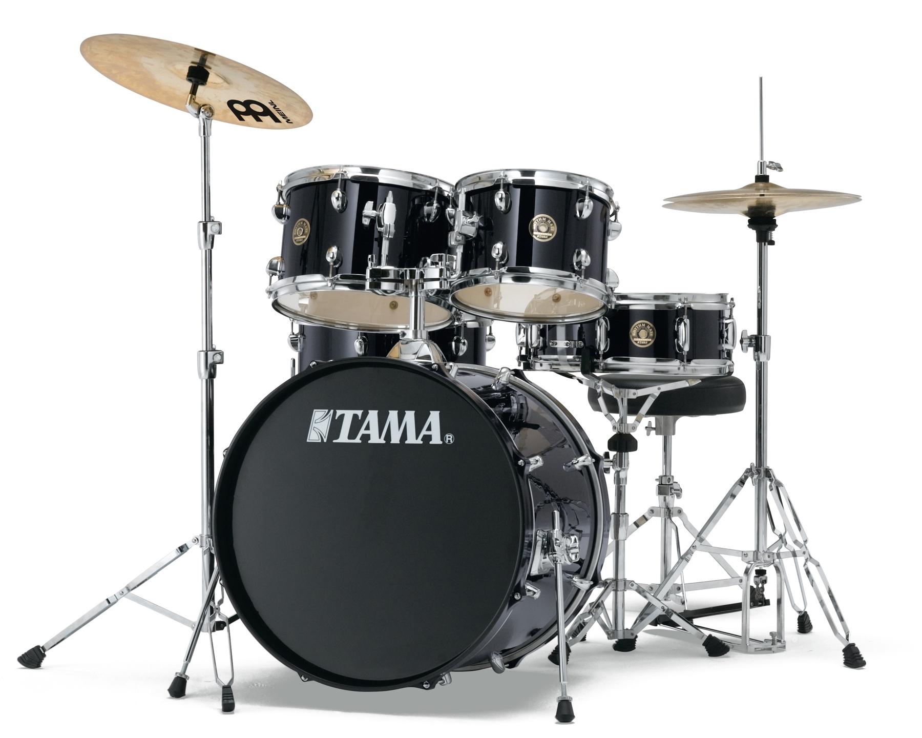 Image of   Tama Rhythm Mate Standard Trommesæt Sort