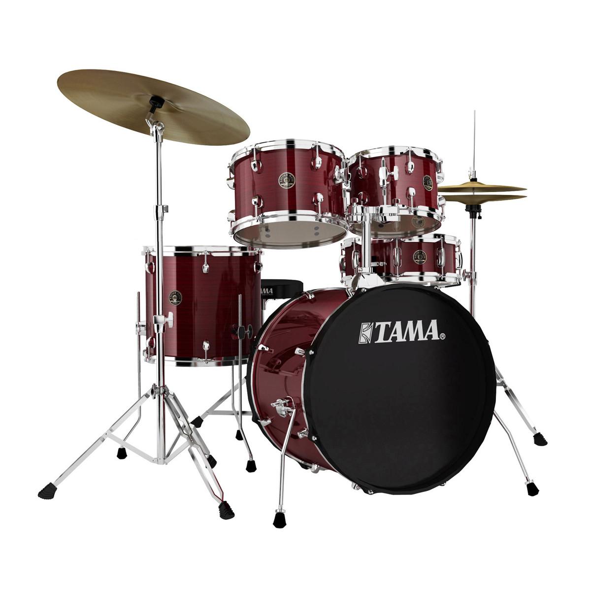 Image of   Tama Rhythm Mate Standard Trommesæt Red Stream