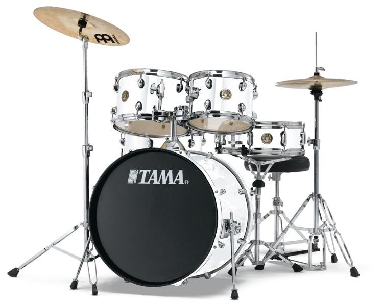 Image of   Tama Rhythm Mate Standard Trommesæt Hvid